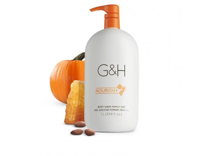 G&H NOURISH+™ Sprchový tělový gel 1 litr