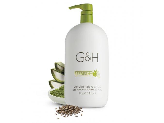 G&H REFRESH+™ Sprchový tělový gel 1 litr