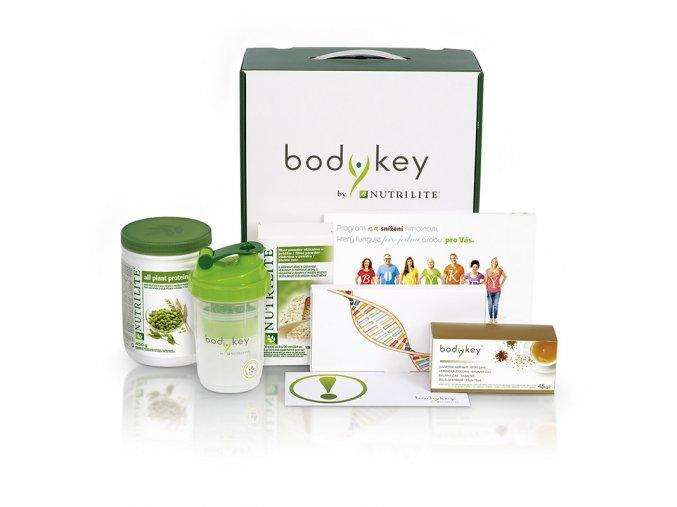 Souprava bodykey™  doživotní program na hubnutí, genetický test a další