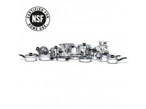 icook luxusní rodinná sada nádobí