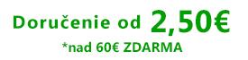 Doručenie od 2,5 €