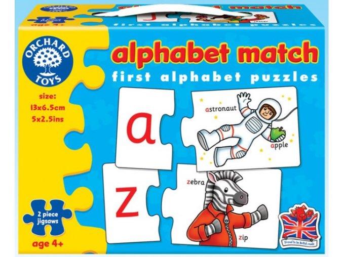 Puzzle abeceda