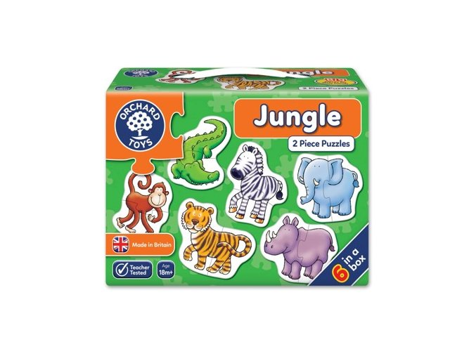 Puzzle džungle01