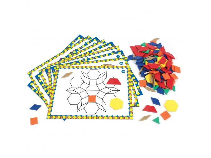 6134 Pattern Block Activity Set web