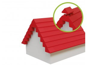 Kostičky na střechy 68 ks kompatibilní s Lego© Duplo©