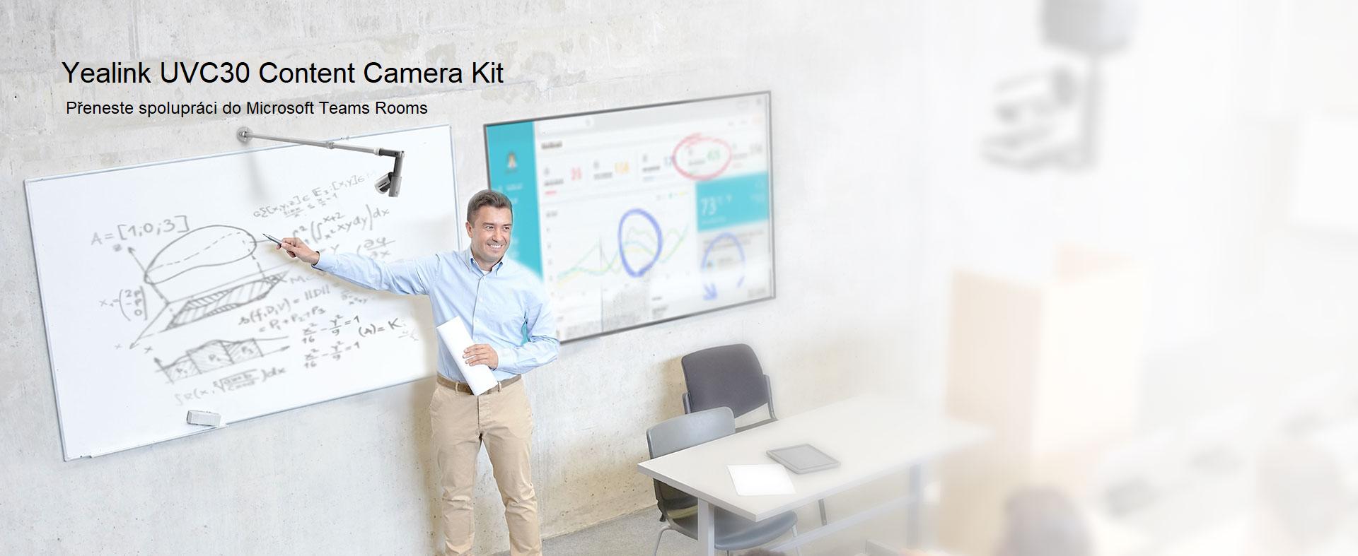 Přeneste spolupráci do Microsoft Teams Rooms