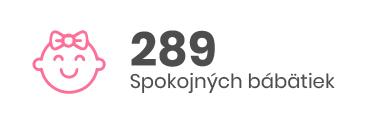 289 Spokojných bábätiek