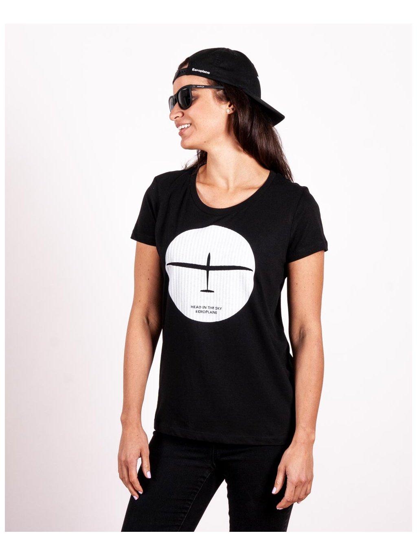 women tshirt glider in wave black eeroplane03