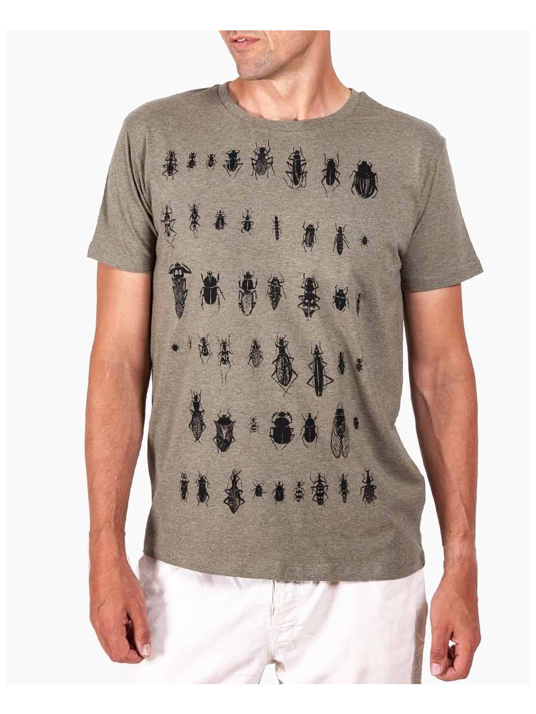 tricko sbirka brouku bug collection tshirt khaki lucie tatarova01