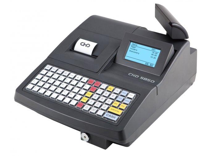 Tlačítková registrační pokladna CHD 5850, vč. pokladní zásuvky zdarma