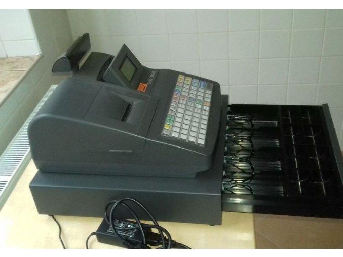 Pokladna CHD 3850 + pokladní zásuvka