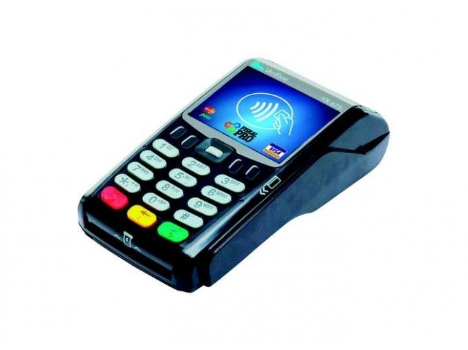 FiskalPRO VX 675 STANDARD s mobilním připojením GSM, platebním terminálem a baterií