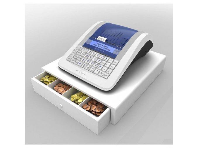 Pokladna Elcom Euro 150TEi wifi + mobilní internet 3G + pokl. zásuvka CD-530 K