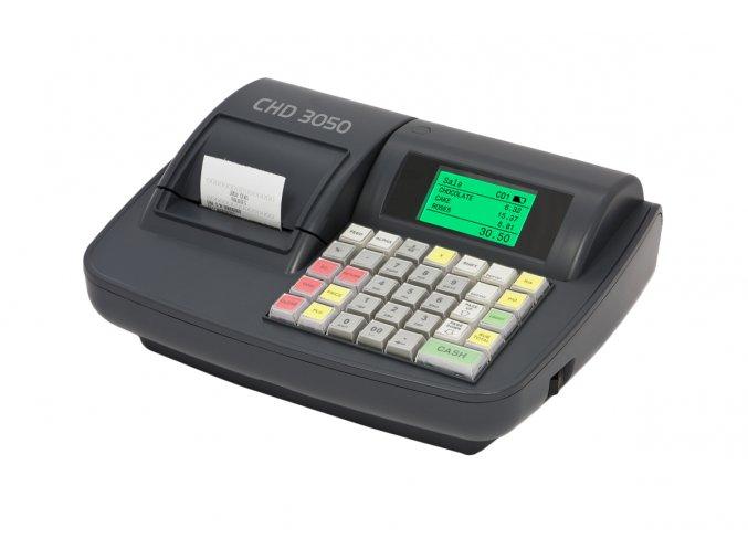 Tlačítková registrační pokladna CHD 3050 EET