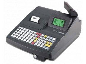 Tlačítková registrační pokladna CHD 3850 EET, vč. pokladní zásuvky zdarma