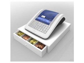 Pokladna Elcom Euro 150TEi wifi + mobilní internet 4G + pokl. zásuvka CD-530 K