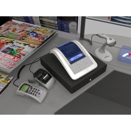 Elcom Euro 150TEi ethernet + pokladní zásuvka CD-530 K