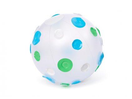míč puntíky modré