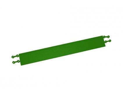 lišta rovná zelená