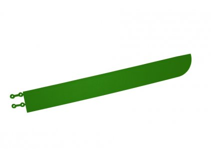 lišta rohová zelená