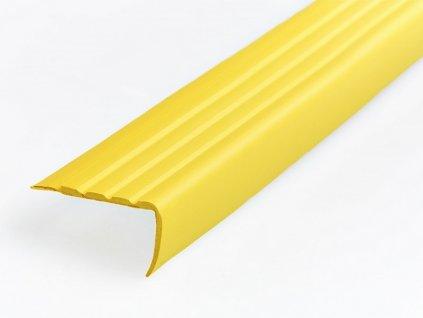 schodová hrana žlutá