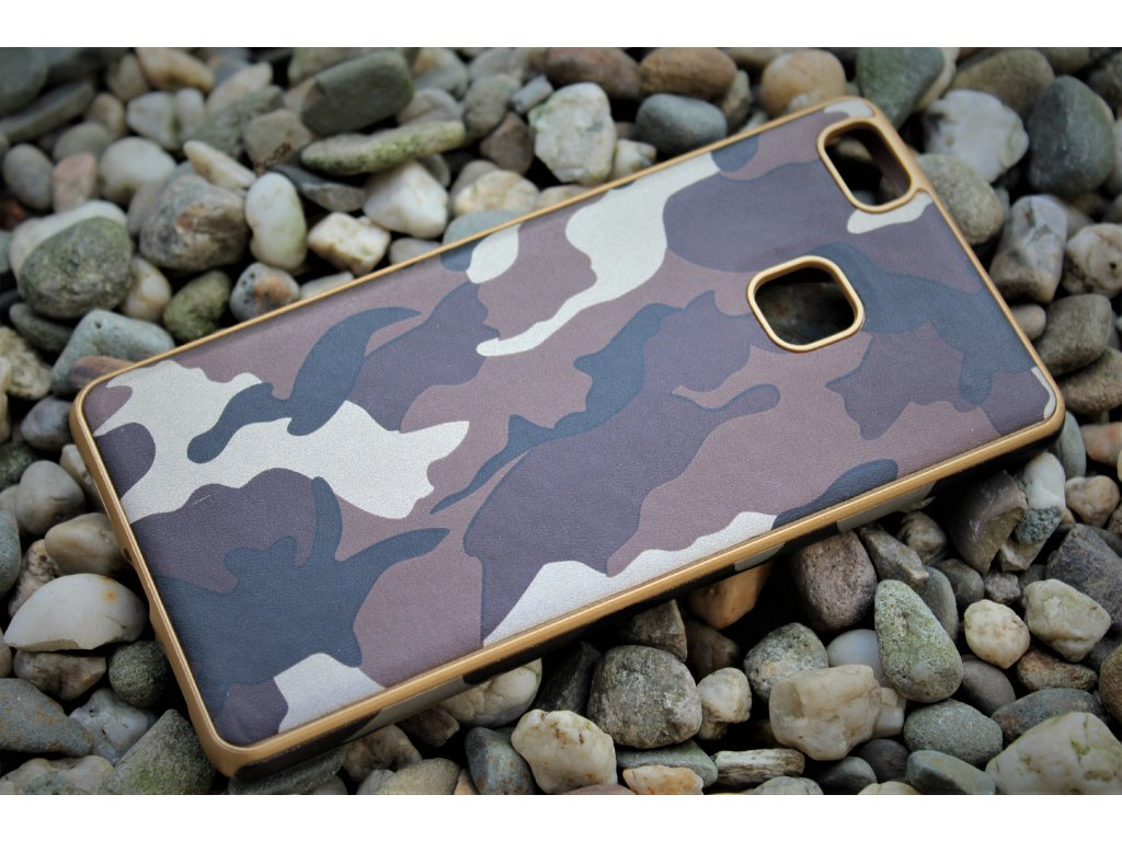 ARMY CASE pouzdro Huawei P9 Lite, camo brown