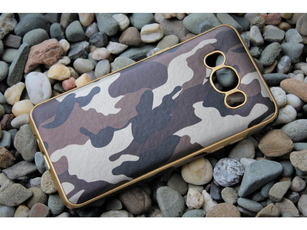 ARMY CASE pouzdro Samsung J510 Galaxy J5 2016 camo brown