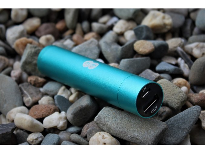 Power bank Tube externí baterie 2000 mAh (bulk) green (SWAP)