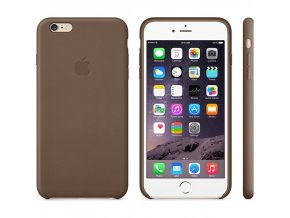 "Apple MGQR2ZM/A pouzdro iPhone 6+ / 6S+ (5,5"") brown / hnědé"