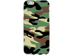 "Back Case ARMY FASHION pouzdro iPhone 6 / 6S (4,7"") camo green"