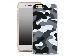 "Back Case ARMY FASHION pouzdro iPhone 6/6S (4,7"") camo black"