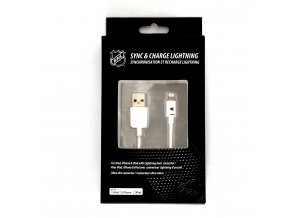 NHL lightning datový kabel pro iPhone / MFI - Minnesota Wild - LGX-11211