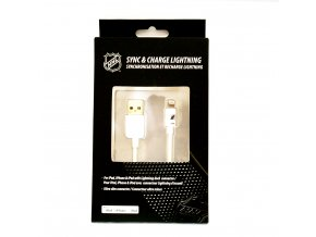 NHL lightning datový kabel pro iPhone / MFI - New Jersey Devils - LGX-11217