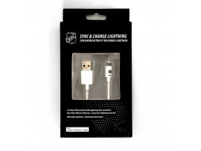 NHL lightning datový kabel pro iPhone / MFI - New York Islanders- LGX-11218