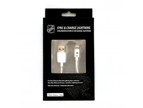NHL lightning datový kabel pro iPhone / MFI - Anaheim Ducks - LGX-11223