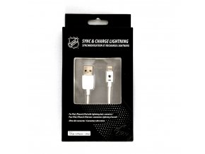NHL lightning datový kabel pro iPhone / MFI - San Jose Sharks - LGX-11228