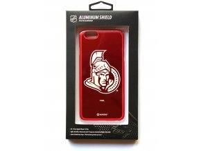 "NHL Aluminium Shield LGX-11505 pouzdro iPhone 6+ / 6S+ (5,5"") Ottawa Senators"