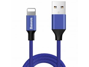 Baseus Yiven USB kabel - iPhone lightning / 1,2m / 2A navy blue