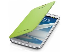 SAMSUNG EFC-1J9FLE pouzdro book N7100 Galaxy Note2 Lime green / zelené