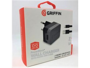 Nabíječka Griffin GE43017 Qualcomm Quick Charge + micro USB kabel 2,4A / 15W