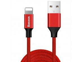 Baseus Yiven USB kabel - iPhone lightning / 1m / 2A red CATLYW-C09