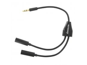 Networx rozdvojka audio konektru 3,5mm jack