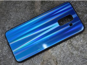 Pouzdro Aurora Glass Samsung A605 Galaxy A6 Plus 2018 dark blue