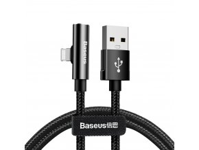 Baseus Rhythm Bent USB kabel - iPhone lightning 1,2m / 2A s audio výstupem 3,5mm jack