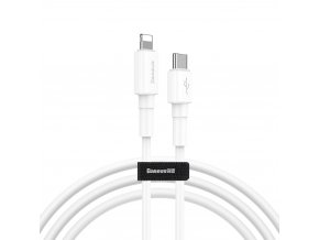 Baseus Mini kabel USB-C PD / Apple Lightning 18W / 1m / QC 3.0. white CATLSW-02