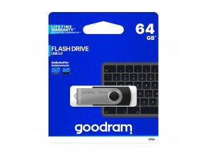Goodram UTS2-0640K0R11, 64GB flash disk / USB 2.0
