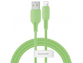 Baseus Colorful kabel USB / Apple Lightning 1,2m / 2,4A zelený CALDC-06