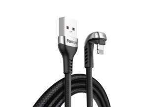 Baseus Green U kabel USB / Apple Lightning 2m / 1,5A černý CALUX-B01