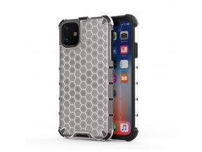 HoneyComb Armor Case odolné pouzdro pro Apple iPhone 11 clear white