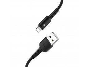 HOCO X30 USB kabel - iPhone lightning 1,2m / 2A černý
